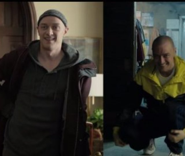 James Mcavoy Changes Body Personality In Second Split Trailer Upi Com