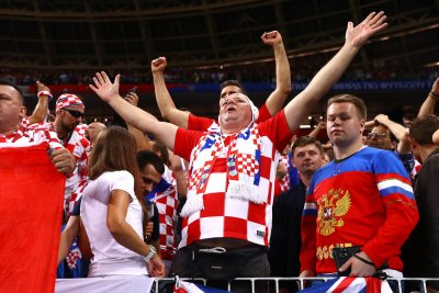 World Cup: French, Croatian fans to play friendly on Moscow's Red Square World Cup French Croatian fans to play friendly on Moscows Red Square