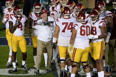 Improving Texas Longhorns, No. 22 USC Trojans renew rivalry Improving Texas Longhorns No 22 USC Trojans renew rivalry