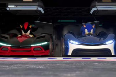 Watch Sonic The Hedgehog Hits The Racetrack In Team