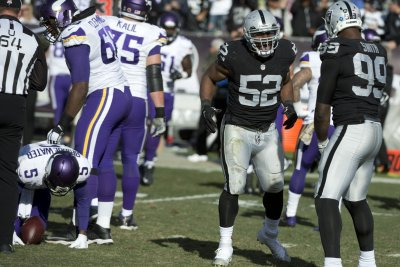 Oakland Raiders' Jon Gruden: Khalil Mack's contract is top priority Oakland Raiders Jon Gruden Khalil Macks contract is top priority