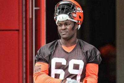Undrafted Desmond Harrison named to replace Cleveland Browns' Joe Thomas Undrafted Desmond Harrison named to replace Cleveland Browns Joe Thomas