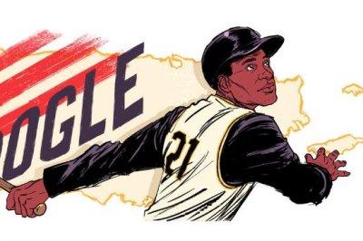 Google honors baseball great Roberto Clemente with new Doodle Google honors baseball great Roberto Clemente with new Doodle