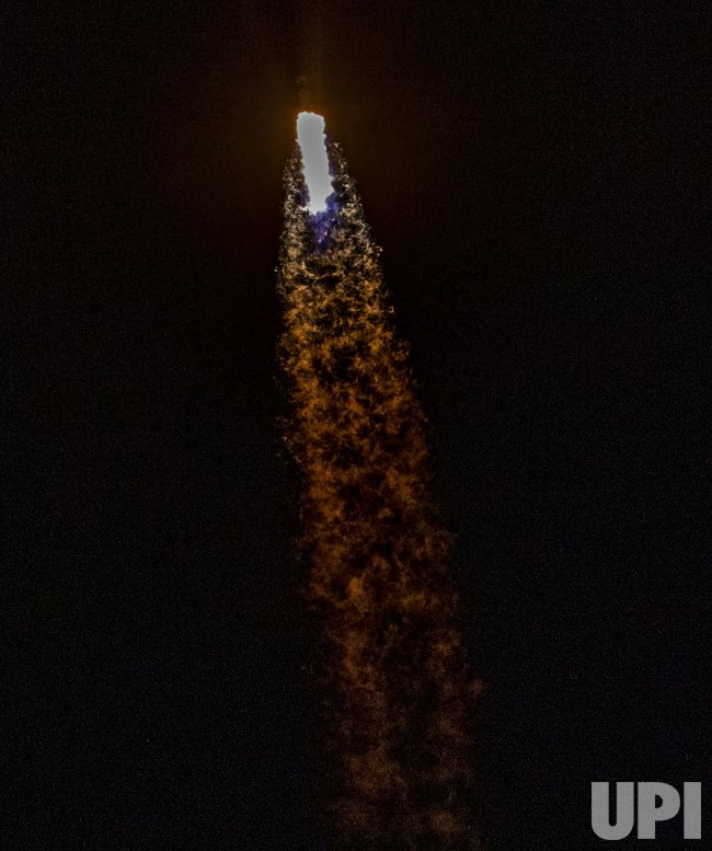 SpaceX Falcon 9 with Crew-1 Launches from Kennedy Space ...