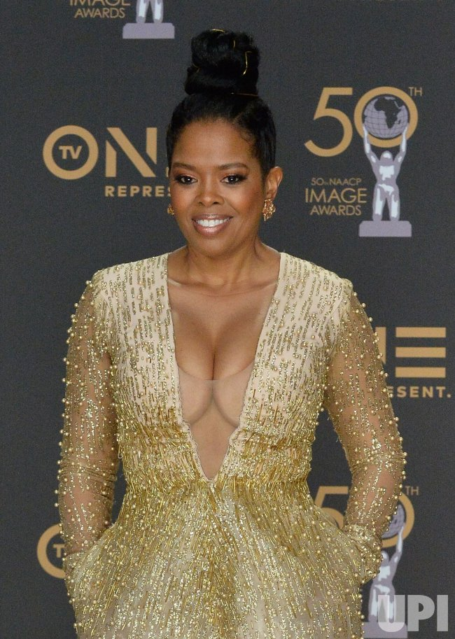 Malinda Williams Backstage At The 50th Naacp Image Awards