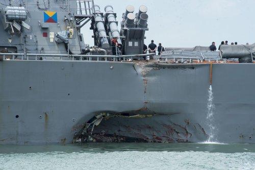 USS John McCain crew rated it 'below average' before ...