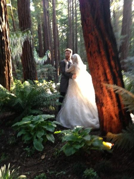 Sean Parker Marries Alexandra Lenas