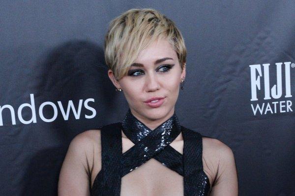 Miley Cyrus caught kissing Patrick Schwarzenegger - UPI.com