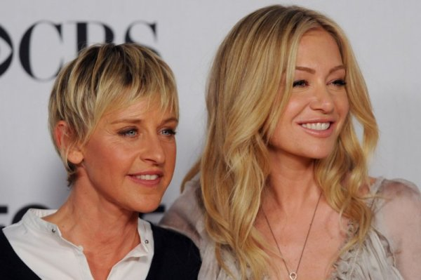 Ellen DeGeneres talks motherhood and wife Portia de Rossi ...