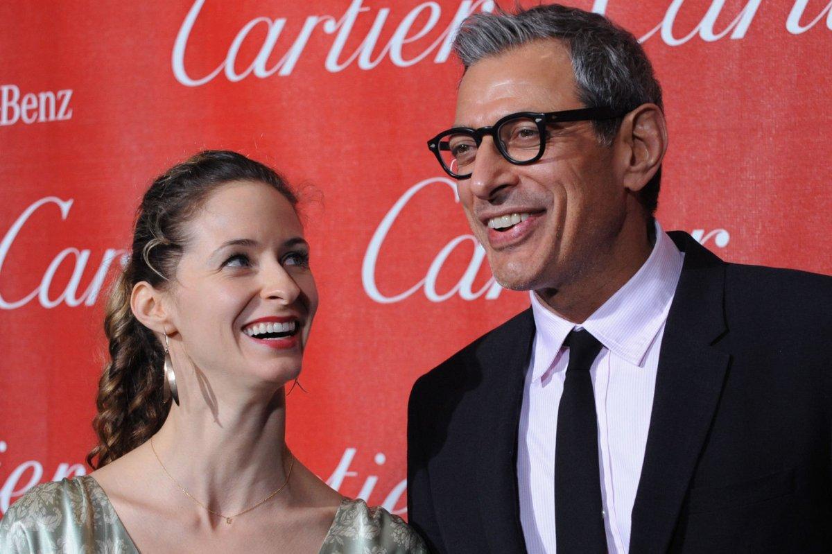 Jeff Goldblum Proposes To Girlfriend Emilie Livingston