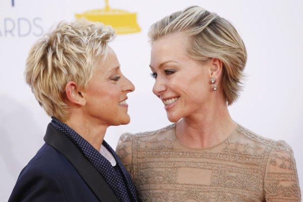Portia de Rossi resents Ellen DeGeneres friendship with ...