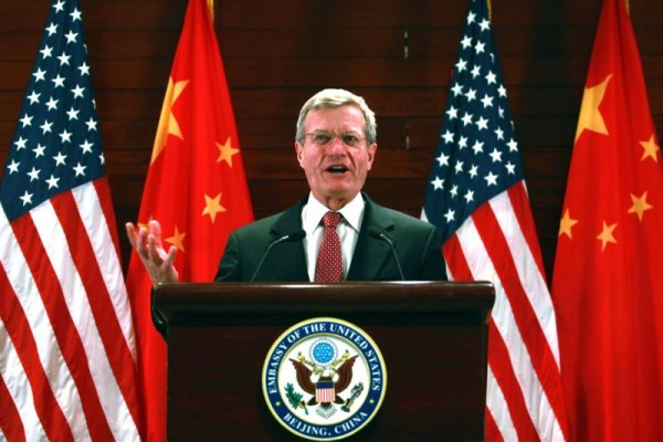Max Baucus, new U.S. ambassador to China, arrives in ...