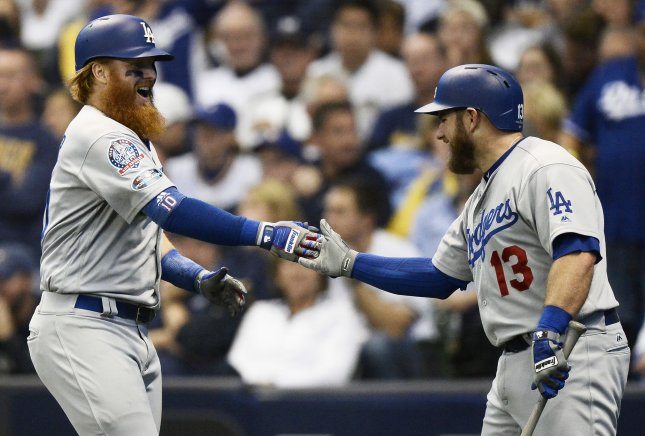 NLCS: Turner, Dodgers rally past Brewers in Game 2 NLCS Turner Dodgers rally past Brewers in Game 2