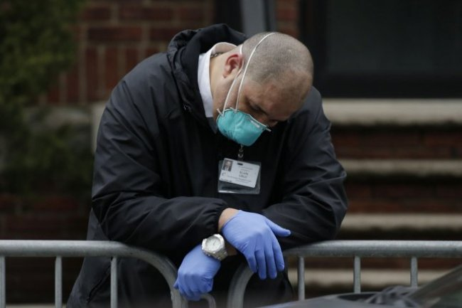 Researchers say that stress during the COVID-19 pandemic has been especially high for medical workers, specifically those who are younger and are women, has taken a particularly high toll. File Photo by John Angelillo/UPI