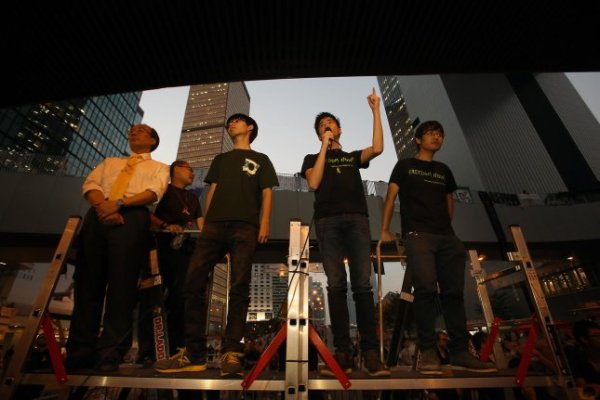 Thousands of protesters take to Hong Kong's streets - UPI.com