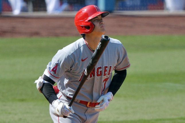 Angels' Shohei Ohtani hits 450-foot homer, throws 101-mph ...