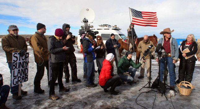 Image result for images of LaVoy Finicum at Malheur National Wildlife Refuge