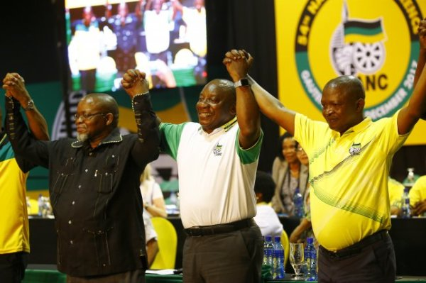 South Africa's ruling party elects Cyril Ramaphosa as ...