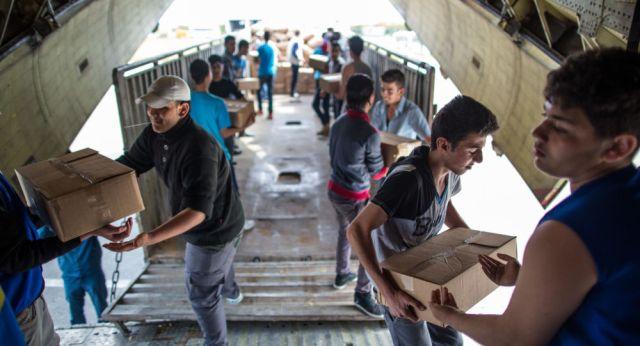 Znalezione obrazy dla zapytania pomoc rosji dla syrii zdjecia