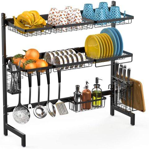 buy doreen over sink dish drying rack black online shop home garden on carrefour uae
