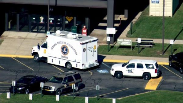FBI raids Lake County Sheriff's office in Crown Point ...
