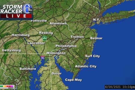 Philadelphia Weather Radar   Regional View   6abc com StormTracker 6   Regional View