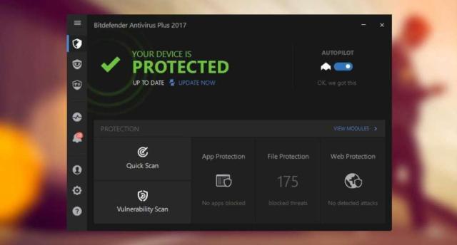 BitDefender Antivirus Plus 2018 Build 22.0.15.189