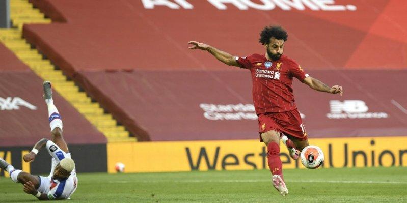 Mohamed Salah (c) Getty Pool via AP Photo