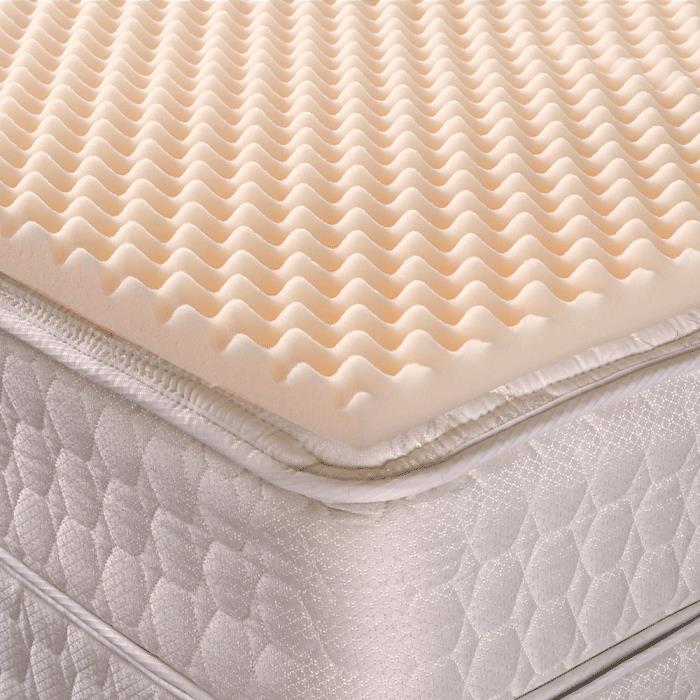 geneva healthcare convoluted egg crate foam hospital fit mattress pads