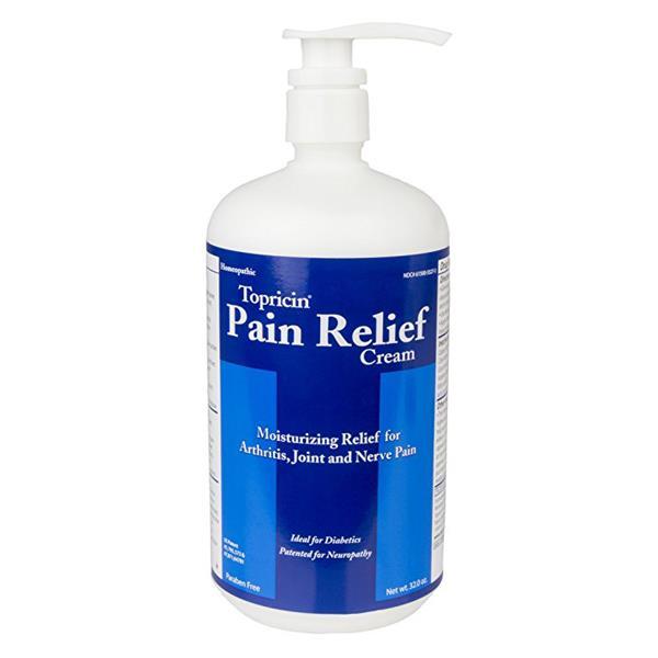 Topricin Moisturizing Pain Relief Cream For Arthritis And ...
