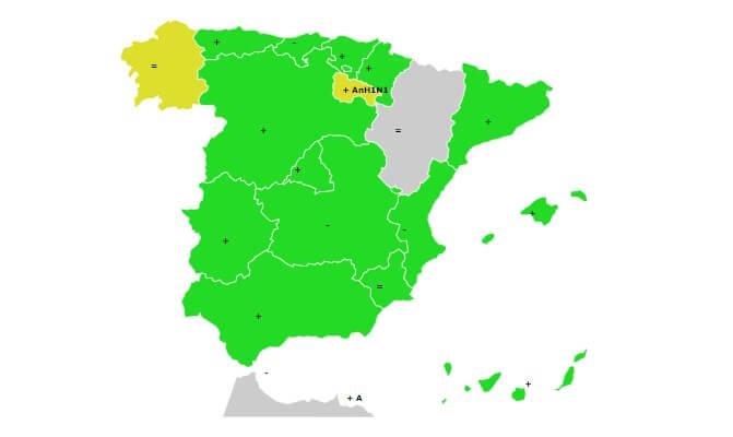 Gripe española 2018