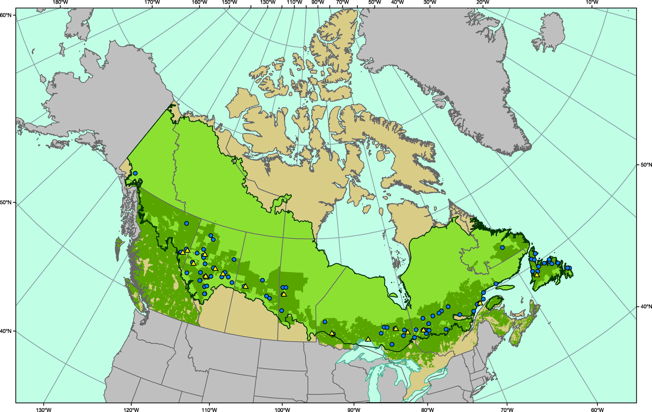 The boreal forest is also referred to as the taiga, or snow forest, and it covers much of canada, alaska, some of the northern. An Introduction To Canada S Boreal Zone Ecosystem Processes Health Sustainability And Environmental Issues