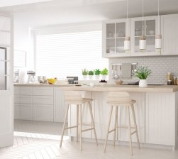 Tips to Make Your All White Kitchen Modern and Sophisticated