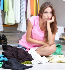 Too many Clothes, No Down Payment