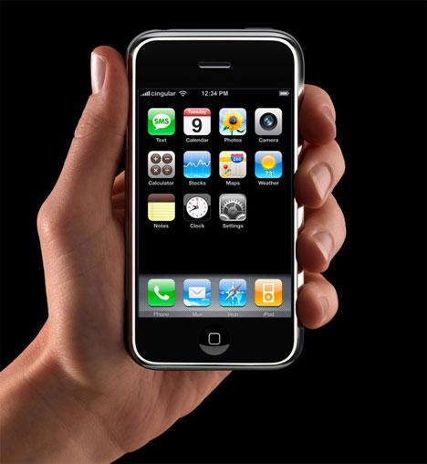 Apple Announces the iPhone