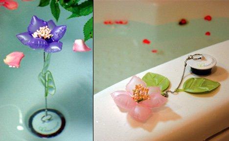 Flower plug changes color