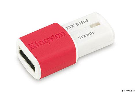 Kingston unveils DataTraveler Mini