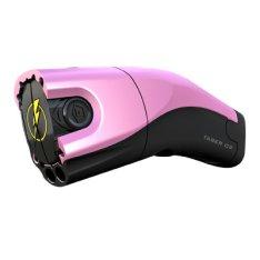 Pink color Taser hurts