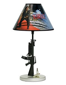 Scarface Gun Lamp