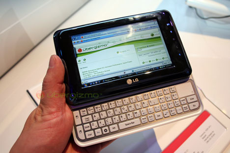 LG 4.8-inch UMPC