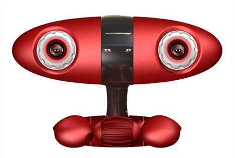 Minoru Stereo 3D Webcam is Anthropomorphic