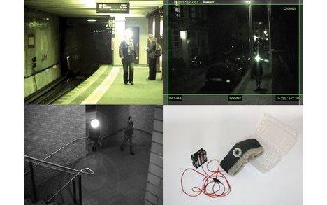 Infrared Light Against Surveillance Cameras