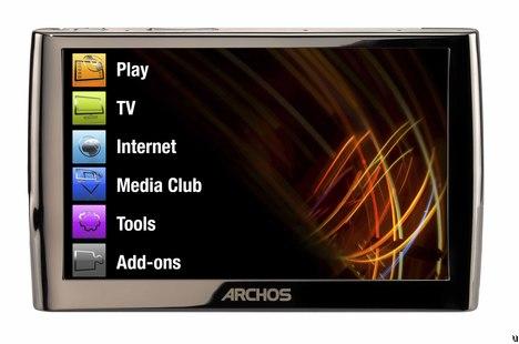 Archos 5 is an Internet Media Tablet