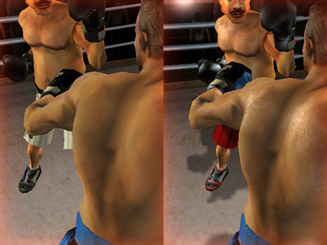 Iron Fist Boxing 3 on iPhone features GL 1.x and GL 2.0