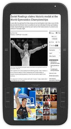 Spring Design Alex Android e-book reader