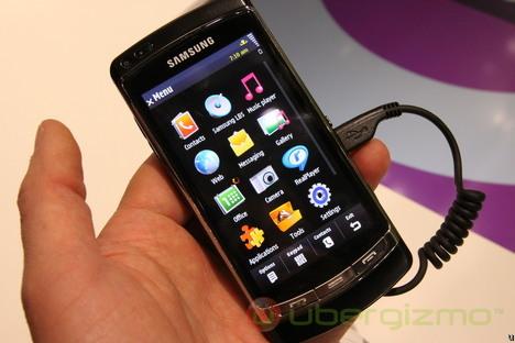 Samsung OMNIA HD Hands-On