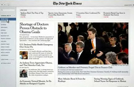 New York Times releases Reader 2.0