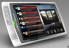 Lighthouse SQ7 portable social media device