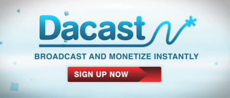 DaCast aims to help video content producers monetize their work