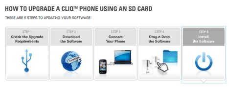 Motorola CLIQ Gets Official Android 2.1 Update